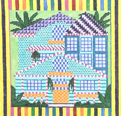 Conch House needlepoint