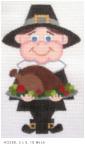 Pilgrim with Turkey