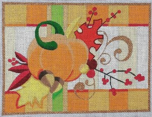 RC Pumpkin Floral.
