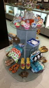 Cupcakes and sandals