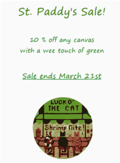 Paddy Sale Poster 2