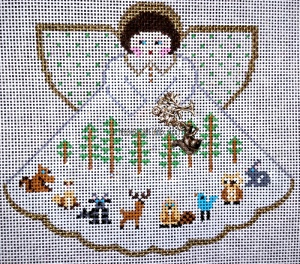needlepoint angel