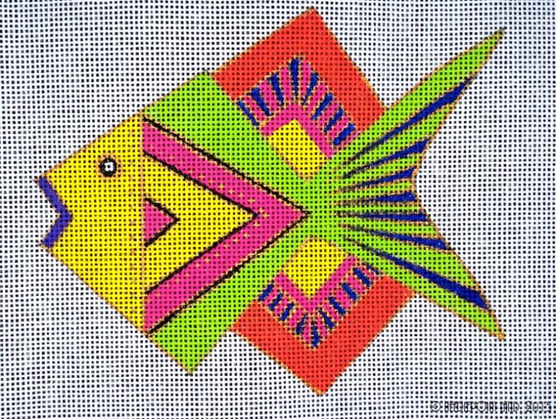 Geometric fish 2