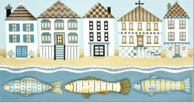 fish houses - melissa shirley - 13m 20x10.25
