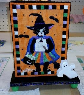 needlepoint halloween finishing