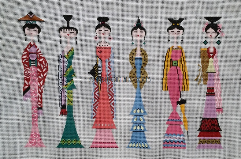 needlepoint japanese canvas