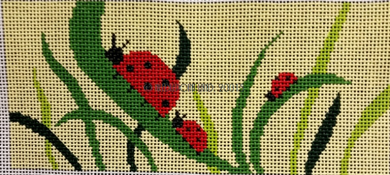 needlepoint lady bug canvas