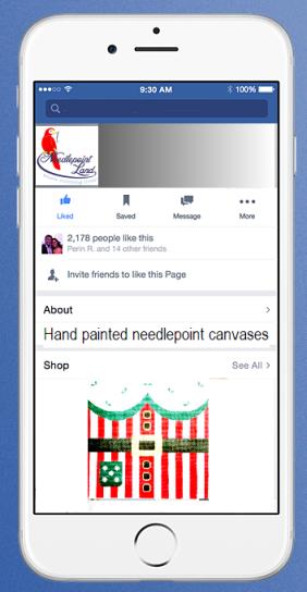 Needlepoint Land on Facebook