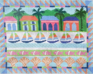 needlepoint regatta