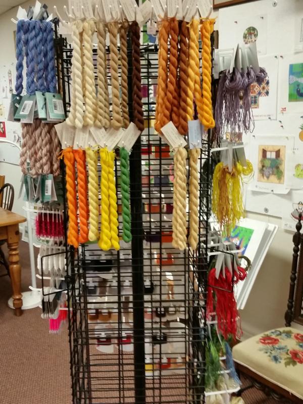 needlepoint threads