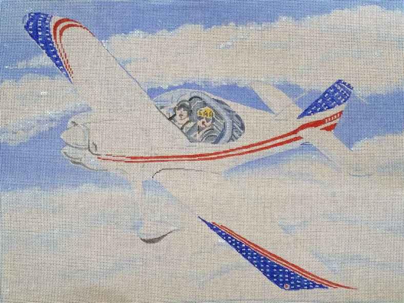 needlepoint plane