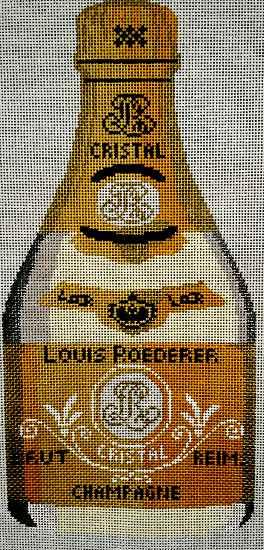 needlepoint champagne