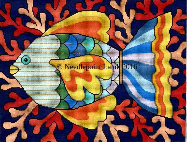 needlepoint fish